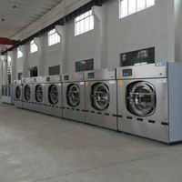 Commercial laundry washing machine