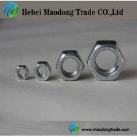 zinc plated/galvanized DIN934 Hex Nut