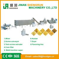 ISO9001 certificate various corn puffed food processing machine