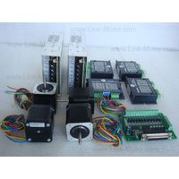 Economic Kit: 4 Axis Nema17 Stepper Motor 52N.cm (73 oz.in) & Driver & Power Supply