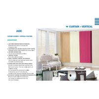 Jade (Curtain+Vertical blind)