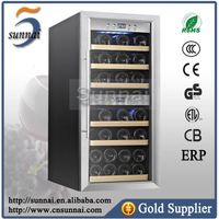 Freestanding dual Zone Wine Refrigerator with CE CB
