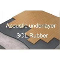 Acoustic underlayer rubber flooring, shockpad flooring, thumbnail image