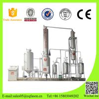 Vacuum waste truck oil purification equipments