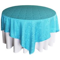 Solid color Polyester tablecloth for Restaurant Party and Bistros Buffet Table thumbnail image