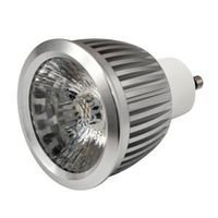 6W HV driverless dimmable GU10 led spotlight lamp bulb