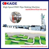 High speed PERT tube extrusion machine 50m/min, China toppes speed
