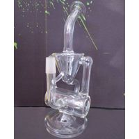 New Designed Recycler Glass Bong water pipe hand made glass pipes