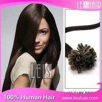 100% human remy hair cheap pre-bond u tip hair extension