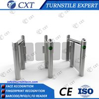 High speed Swing barrier gate for office with time attendance system