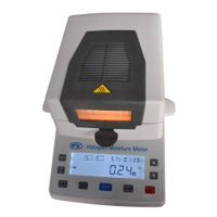 XY105W Halogen Moisture Meter for kinds of materials