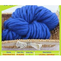 100% merino wool yarn for knitting and weaving space dyed muti-color in ball