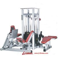Deluxe 4 Multistations Fitness Equipmentt (LJ-5904A) thumbnail image