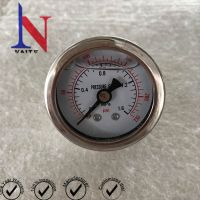 Diameter 40mm Stainless Steel Case Lower Thread Pressure Gauge