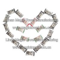 disposable candy pack compressed napkins/magic power tissue/mini tissue/hand tissue/magic compressed