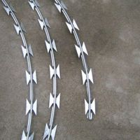 BTO22 High quality razor barbed wire mesh welcome to an order