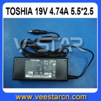 90W 19V 4.74A AC Charger Adapter For Toshiba PA3516U-1ACA