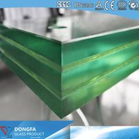 SGP Laminated Glass Balustrade With Safety Certication