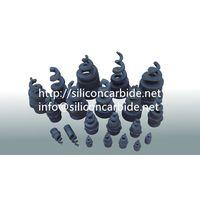 Reaction bonded silicon carbide desulphurization nozzle