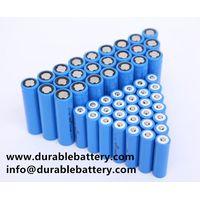 ICR18650 3.7V 18650 Li-ion rechargeable Battery 2000mAh 2200mAh 2400mAh 2600mah 3000mAh cell thumbnail image