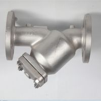 Factory Direct Sales Stainless Steel Y Strainer water oil Fillter thumbnail image