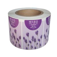 Wholesale PVC Material Die Cut Warning Clear Labels thumbnail image