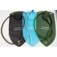 plastic hiking water bladder