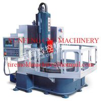 Four-axis CNC lettering machine for tyre mold