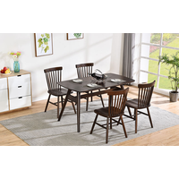 High quality European style wood dining tables and chairs