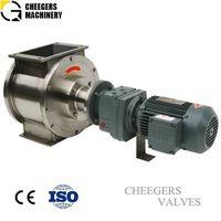Rotary airlock valve for powder handling thumbnail image