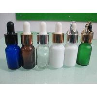 colorful glass e smoke oil bottle e liquid 30ml glass dropper bottle with lid