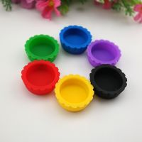 Food grade silicone wine bottle cap factory direct silicone beer fresh cover creative silicone bever