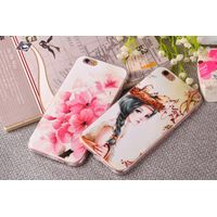 Wholesale Cell Phone Cases TPU Painting Smooth-Surface wear-resistant Anti-Skidding For iPhone 6/6S/ thumbnail image