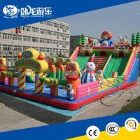custom inflatable slide / inflatable bouncy slide for kids