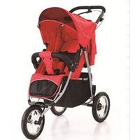 Baby Jogging Strollers With Handbrake 5-points Harnesse