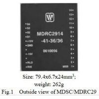 MDSC/MDRC29 Series Digital to Synchro/ Resolver Converters