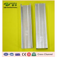 New design 50/19mm galvanized steel ceiling secondary channel cross runner for Asia