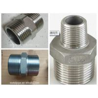 ASTM A815 UNS S32750 1-48 inch threaded socket welding swage Nipple thumbnail image