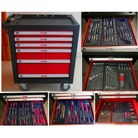 435PCS HEAVY DUTY TROLLEY TOOL SET