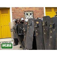 Armored ballistic entry shield IIIA