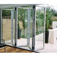 Aluminum alloy gardening folding doors