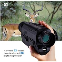 PJ2-0532 Monocular Device 5X Magnification Night Hunting Night Vision Telescope thumbnail image