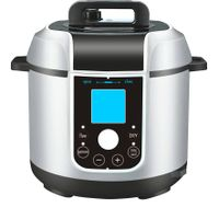 Zehua 5L Multi Function Stainless Steel Electric Pressure Cooker for 5-8people (ZH-A509g)