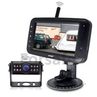 "4.3"" Digital Wireless Screen and Mini Size Rear Camera with 170° Horizontal Super Wide Angle"