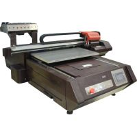 Small Format UV LED Flatbed Printer 600x900mm With Epson Print Head