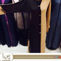 Black Golden Combination Dubai Abaya thumbnail image
