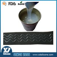 Fire resistant silicone rubber for coating on textile
