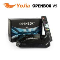 Genuine OPENBOX V9 DVB-S2 HD Satellite Receiver Support 2xUSB CCCAMD NEWCAMD Weather Forecast Miraca
