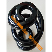 Shrinking coil spring_shaped compression spring_pull press spring