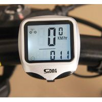 wired back light cycle odometer bicycle